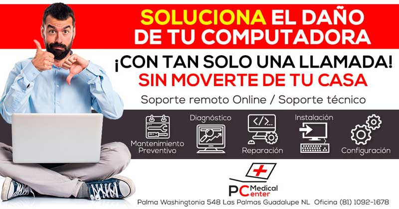 Soporte Técnico en Equipos de Computo y Seguridad  PC Medical Center