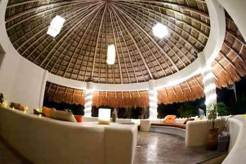 arquitectura de palapas cancun